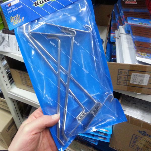 코텍 진열걸이 K-2320 19.5cm 4개입 스페이스월고리