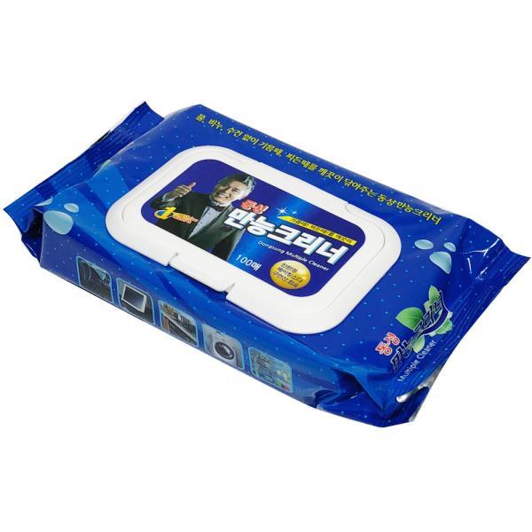 동성만능크리너 티슈형 100매/리필/찌든때/기름때