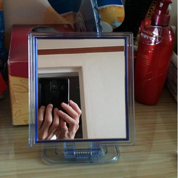 스탠드거울 칠성 신사각거울 대 23x16 탁상거울 접경 사각거울