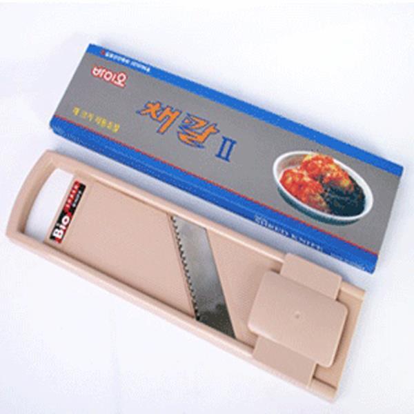 이태리산업 바이오채칼2 슬라이서/채썰기/강판/무생채