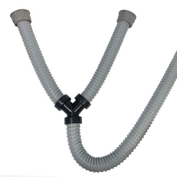 삼정 씽크대 Y자형 배수호스 싱크대Y자호스 Y자배수구