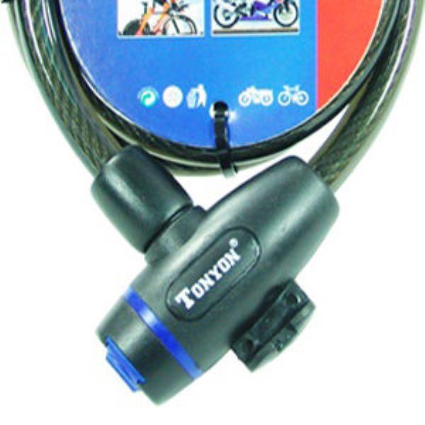 와이어열쇠 자전거열쇠 TY-533 자전거 잠금장치