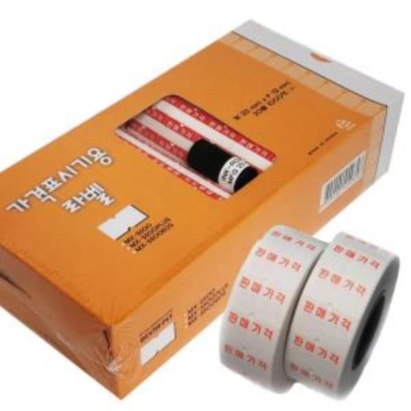 motex 가격표시기용라벨(20롤-1000매) 가격표시기