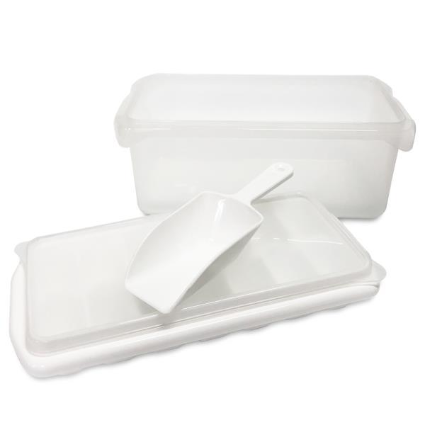 아이스 컨테이너 1호(얼음제빙기+보관함+스푼) 14홀