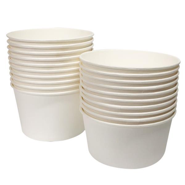 일회용 일회용 분식용기 520 750ml 일회용그릇 종이그릇 포장