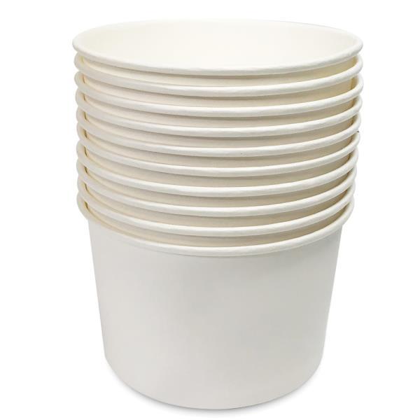 일회용 분식용기 750ml 10P 일회용그릇 종이그릇 포장