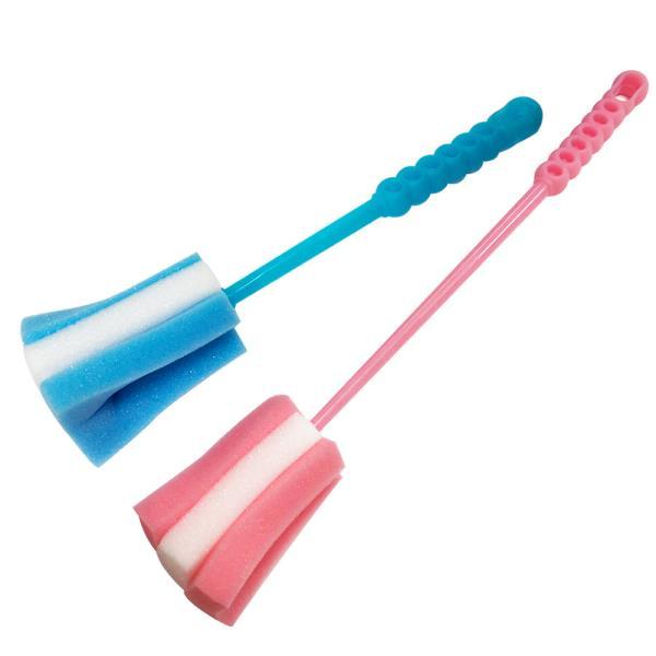 대일 스펀지브러쉬(소/대) 손잡이솔 젖병솔 컵솔 세척