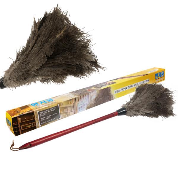 오필리아 타조털이개 먼지털이 깃털 총채 먼지떨이