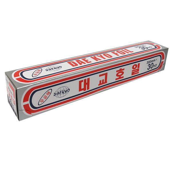대교호일 대교호일 300mm x 30Ho 10M 쿠킹호일 은박 알루미늄