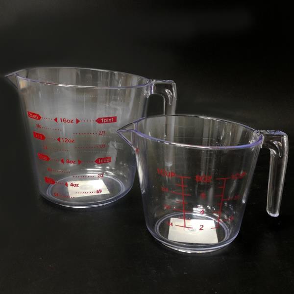 GF리빙 PC계량컵(선택) 계량도구 베이킹 제빵컵 투명