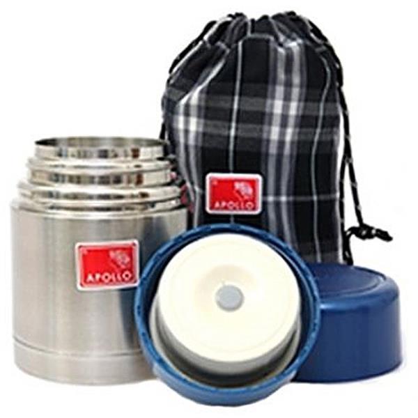 아폴로 죽통431(485ml)보온도시락 스텐죽통 휴대용