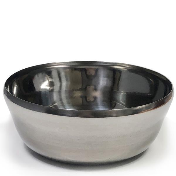 한국금속 스텐대접1P(대/13cm)합뱅이 국그릇 밥그릇