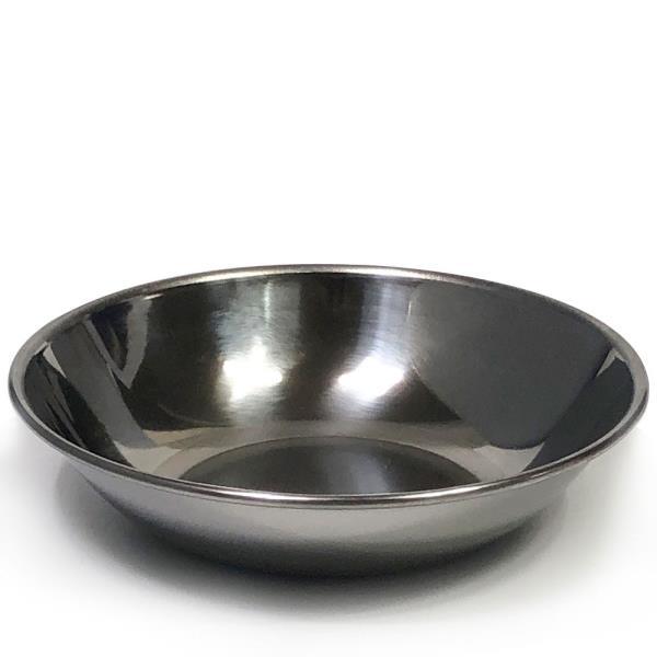 한국금속 스텐찬기1P(중/12.7cm)찬기 접시 식기 그릇