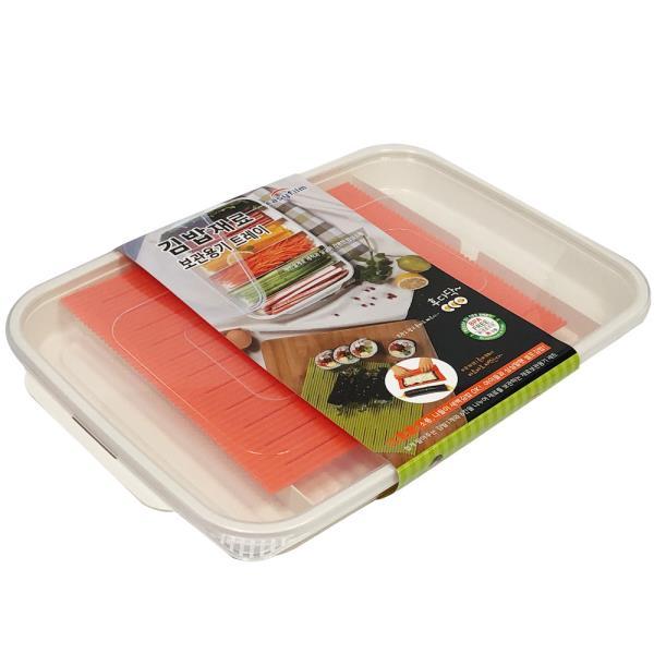 이지 (김밥재료)보관용기 트레이 김발 보관통 재료통