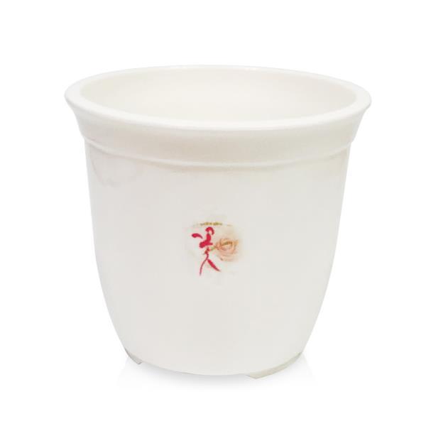 웰빙 라인원화분(1호13x12)원형화분 꽃화분 나무 원예