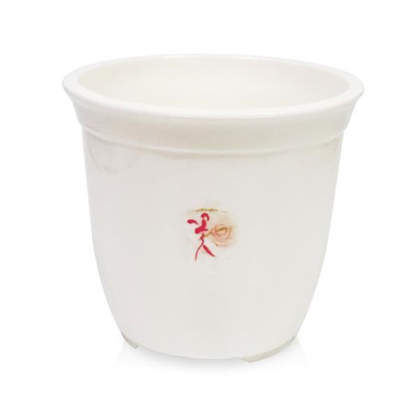 웰빙 라인원화분(2호16x14)원형화분 꽃화분 나무 원예