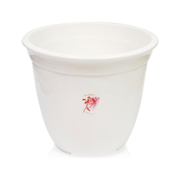 웰빙 라인원화분(5호25.5x22)원형화분 화분 나무 원예