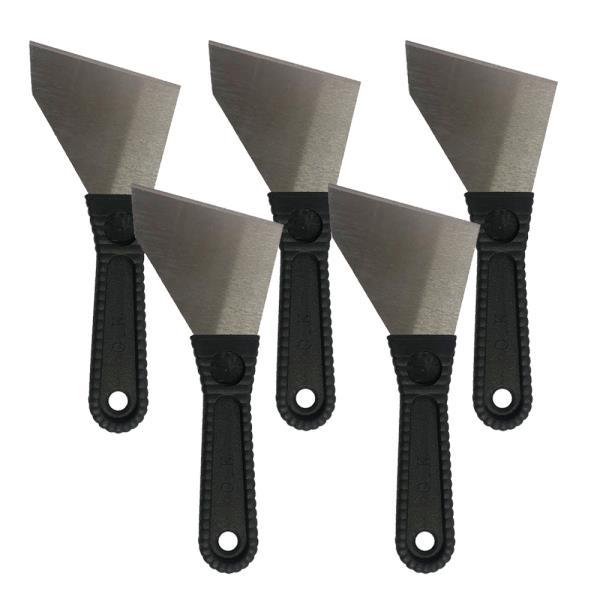 칼날 막헤라(사선형)x(5개) 철스크래퍼 껌칼 막헤라