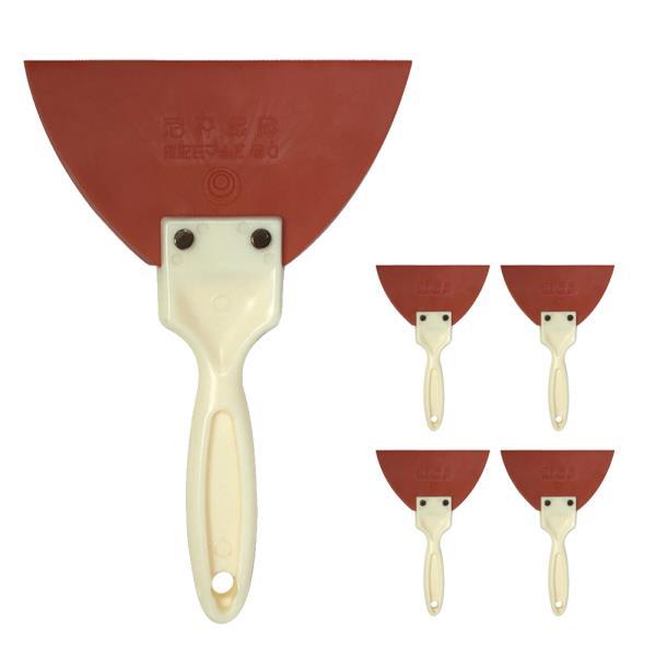 성창 D형고무스크래퍼x(5개) 고무헤라 타일시공 줄눈