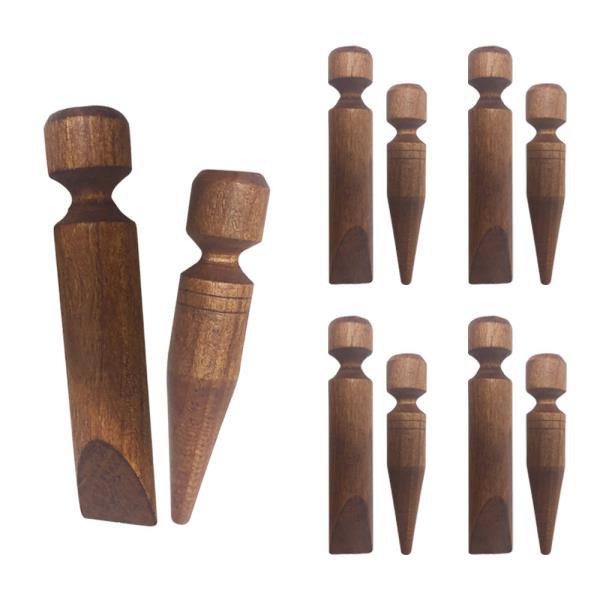 형광 나무지압봉(소) 2P x(5개) 안마기 나무마사지 발