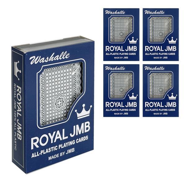 ROYAL 로얄카드x(5개) 플레잉카드 트럼프 포커 포카