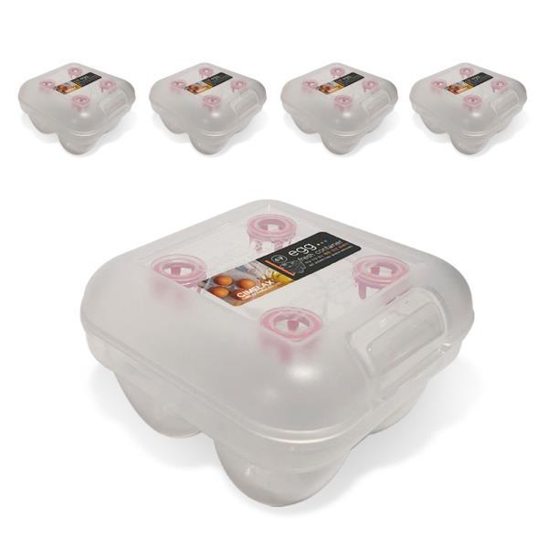 씨밀렉스 계란신선트레이(4구)x(5개) 계란보관함 에그