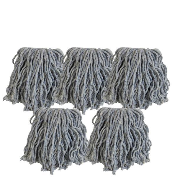 고급청사마포걸레x(5개) 원사 청사 밀대걸레 대걸레