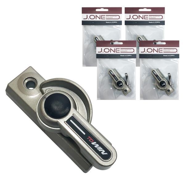 양방향 크리센트(소)x(5개) 창문 샤시 잠금장치 베란