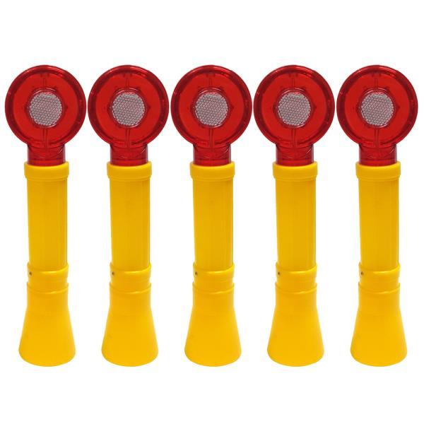콘용 LED 경광등 x(5개)안전 바루사 칼라콘 경고 점멸