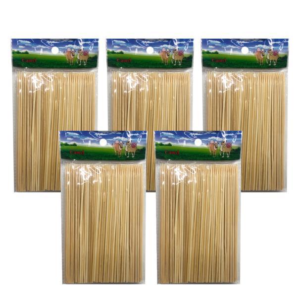 영수 대나무 산적꽂이(15cm) x(5개)산적꼬지 이쑤시개