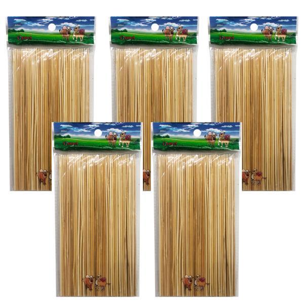 영수 대나무 산적꽂이(18cm) x(5개)산적꼬지 이쑤시개