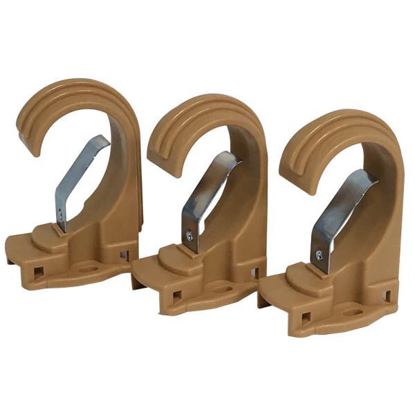 n민광 커튼브라켓(브라운35mm) K-349 커텐봉걸이