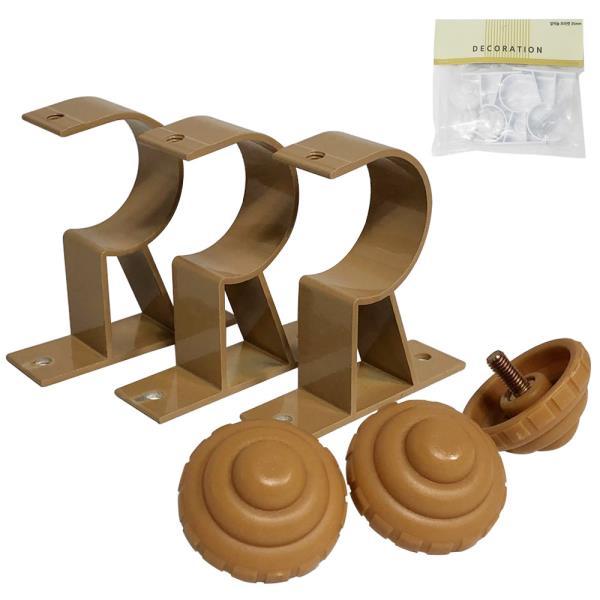 n민광 알미늄 커튼브라켓 35mm K-352 커텐봉 커튼봉