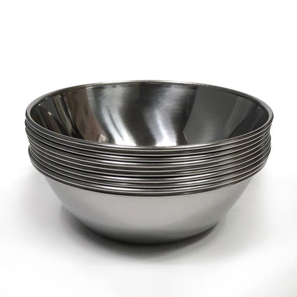 한국 후지뱅이(중14cm) x(10개)대접 그릇 국그릇 원형