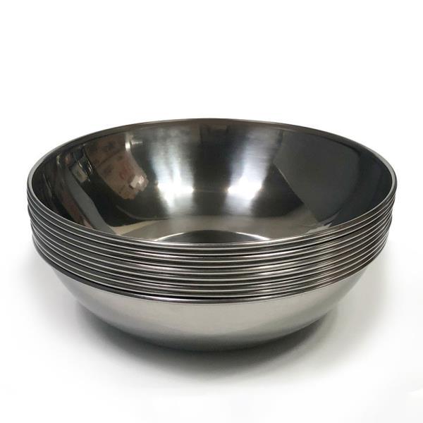 한국 후지비빔기(소17.8cm) x(10개)비빔그릇 스텐비빔