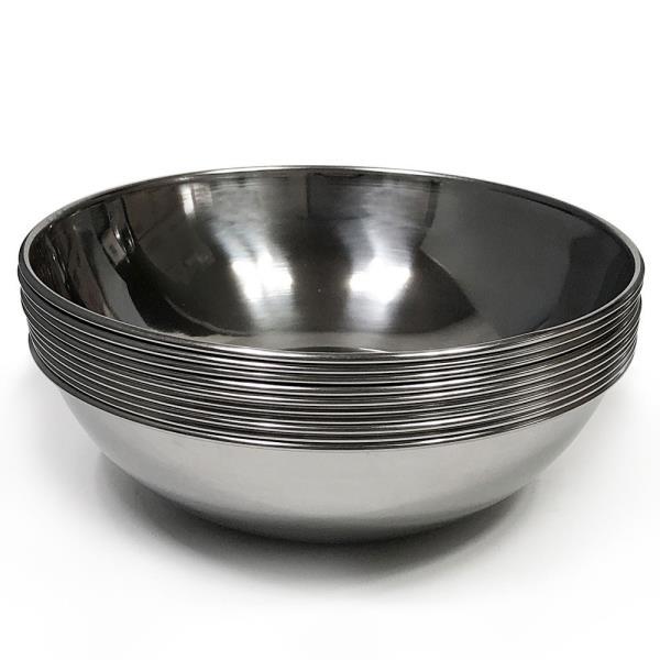한국 후지비빔기(중18.7cm) x(10개)비빔그릇 스텐비빔