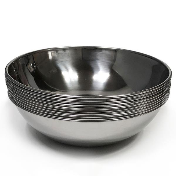 한국 후지비빔기(대20cm) x(10개) 비빔그릇 스텐비빔