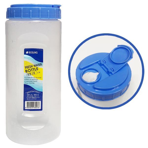보성 물병1.3L (원형2호) 원형물통 냉장고물병 식당