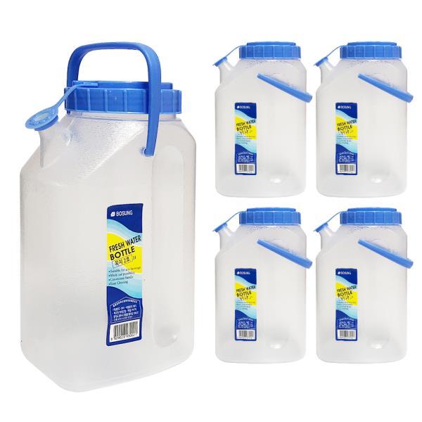 보성 물병2L (꼭지2호) x(5개) 손잡이물통 식당물통