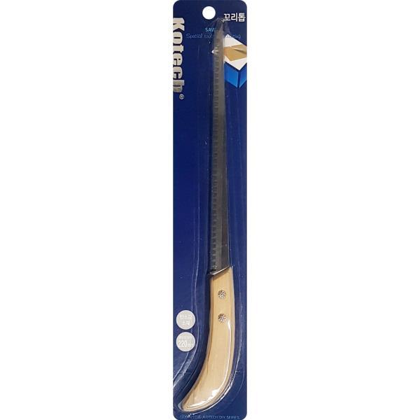 코텍 꼬리톱 K4331 가정용톱 나무 절단 공구 도구