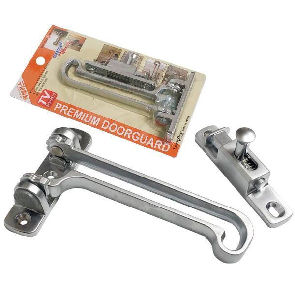 현관문안전고리 락에이스(KD2000) L자형특허잠금 2중