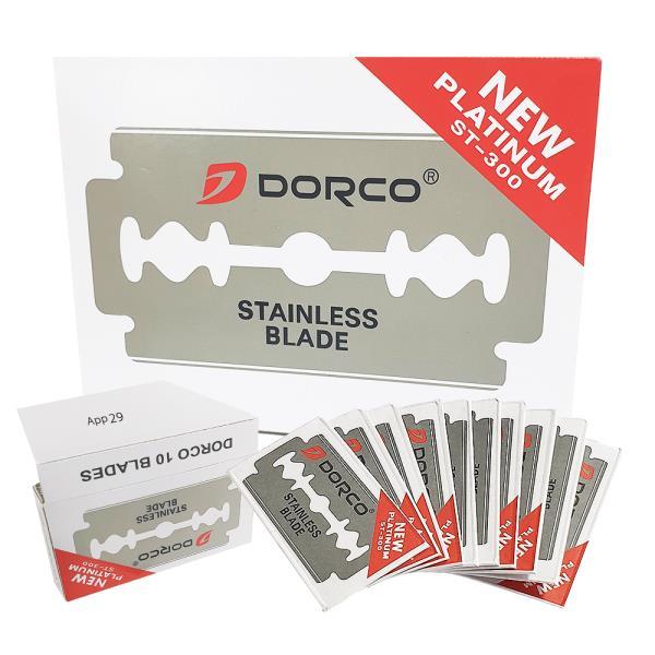 도루코 양날면도날 x1박스(100개)ST300 양면도 화장도