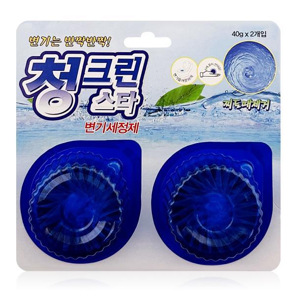 태광 청그린스타 2P 변기세정제 악취제거 살균 소독