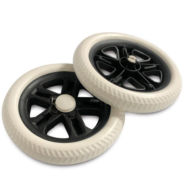 바퀴2P (점보19.5cm)시장가방 고무바퀴 캐리어 핸드카
