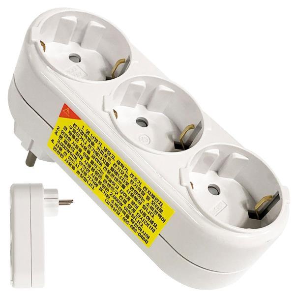 일신 (3구ㄱ형)멀티콘센트 표준멀티탭 플러그콘센트