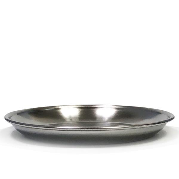 한국금속 스텐접시1P (5호 16.7cm)찬기 반찬접시 그릇