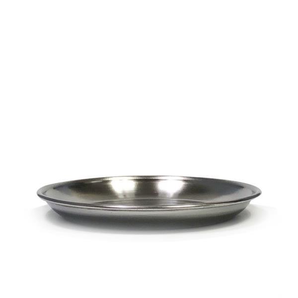 한국금속 스텐접시1P (1호 12.8cm)찬기 반찬접시 그릇