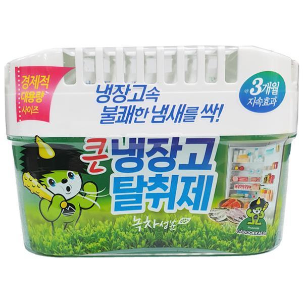 산도깨비 큰 냉장고탈취제 녹차(420g) 음식냄새제거