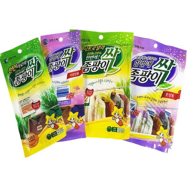 크린스타 좀팡이싹 (선택) 옷장 서랍장 방충제 좀약