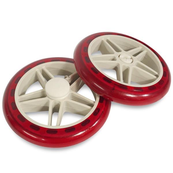 (우레탄)시장가방 바퀴2P (14.5cm) 고무바퀴 핸드카